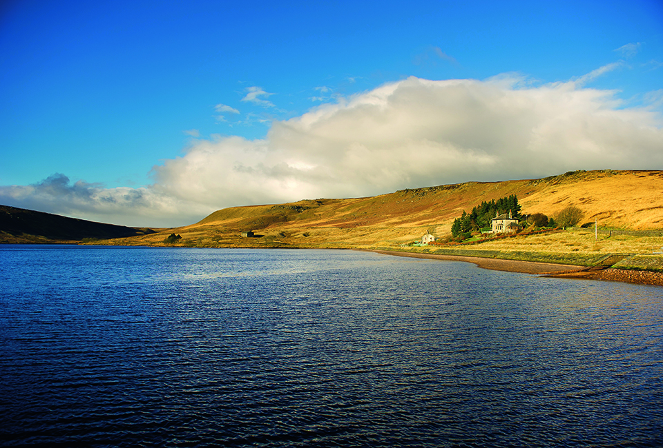 The view across Widdop Reservoir